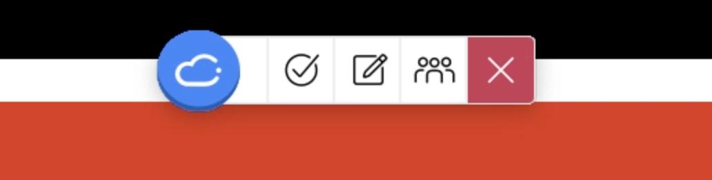 iClicker toolbar